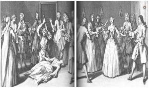 Les convulsionnaires de Saint Médard